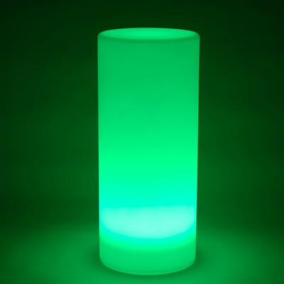 Mehrfarbige LED-Lichtsäule - RUND 80 cm