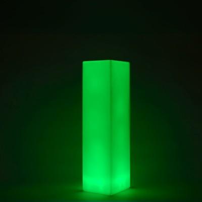 Colonna luminosa LED multicolore - QUADRATA 109 cm