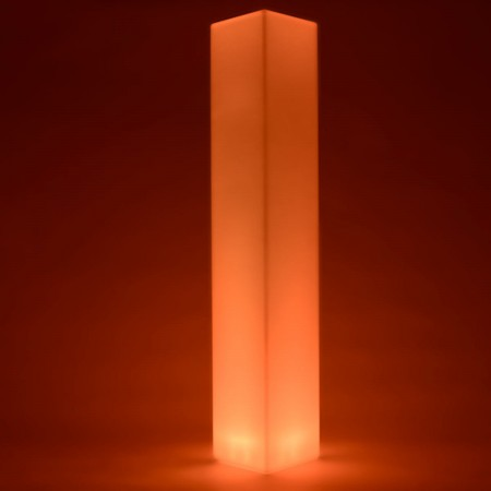Colonna luminosa LED multicolore - QUADRATA 180 cm