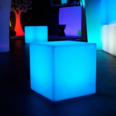 Cubo de luz LED multicolor - 30 cm