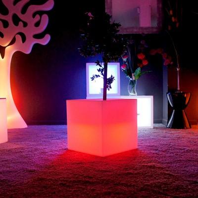 Mehrfarbiger LED-Multifunktionslichtwürfel - 40 cm