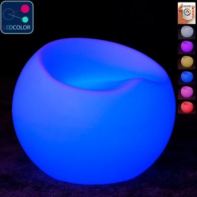 Mehrfarbiger LED beleuchteter Klappstuhl