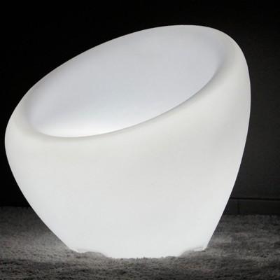 Sillón con luz LED multicolor - KRESLO - 65 cm