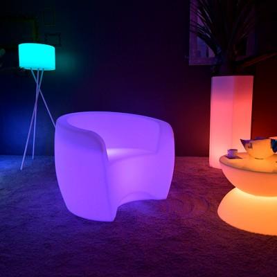 XL Multicolor LED beleuchteter Sessel