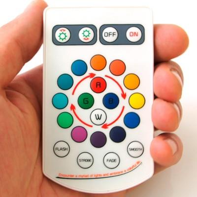 Rodillo de luz LED multicolor S