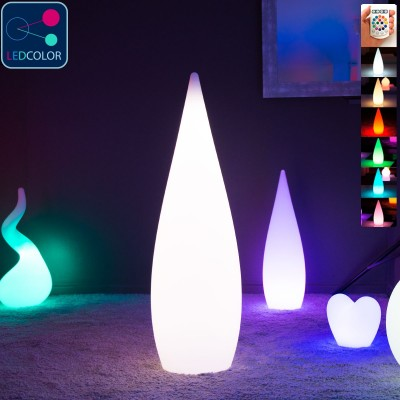Goutte Lumineuse à LED Multicolore - SKAL - 120 cm