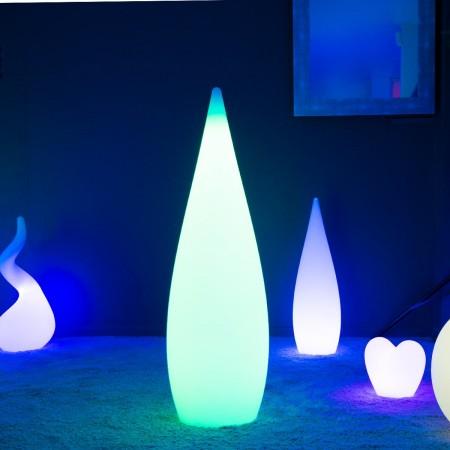 Mehrfarbiger LED Light Drop - SKAL - 120 cm