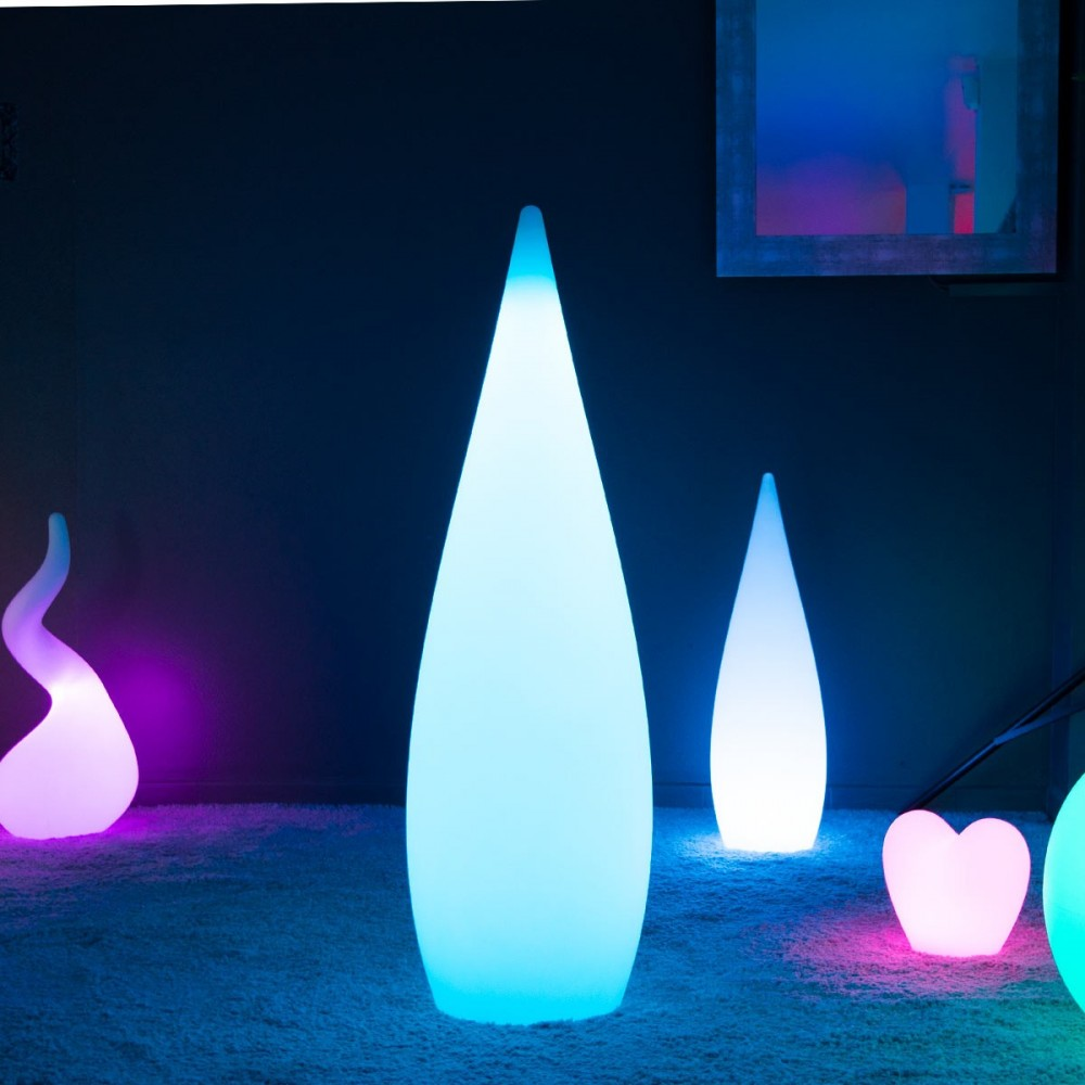 Goutte Lumineuse à LED Multicolore - SKAL - 120 cm