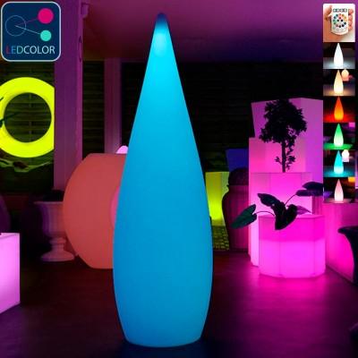 Goccia LED multicolore - SKAL - 150 cm