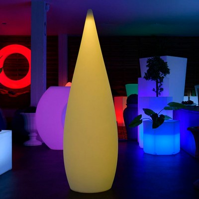 Gota de luz LED multicolor - SKAL - 150 cm
