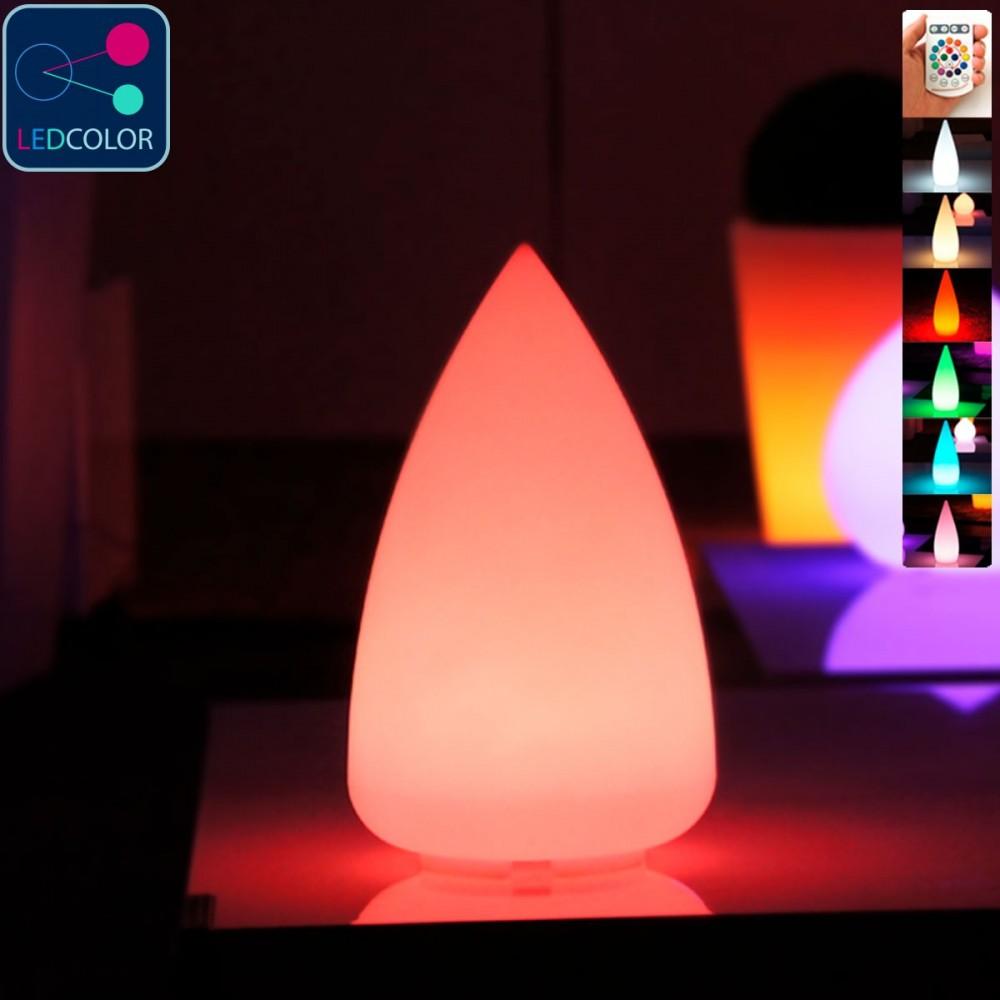 Goutte Lumineuse à LED Multicolore - SKAL - 33 cm