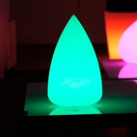 Gota de luz LED multicolor - SKAL - 33 cm