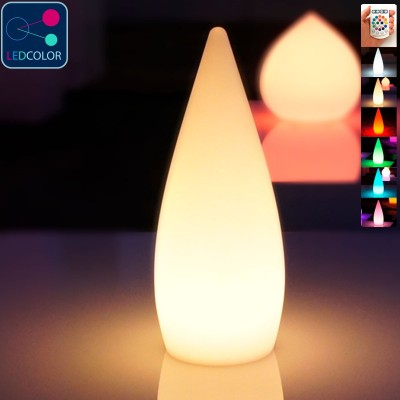 Goutte Lumineuse à LED Multicolore - SKAL - 37 cm