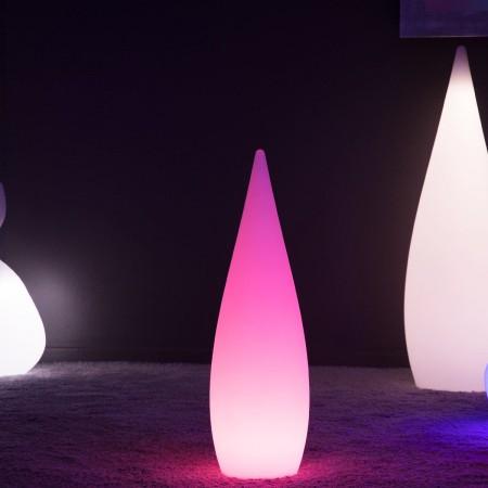 Goccia LED multicolore - SKAL - 37 cm