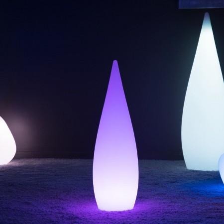 Gota de luz LED multicolor - SKAL - 80 cm