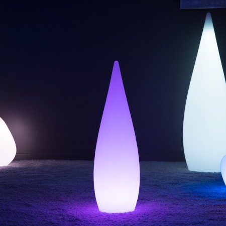 Goutte Lumineuse à LED Multicolore - SKAL - 80 cm