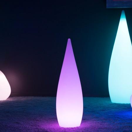 Goccia LED multicolore - SKAL - 80 cm