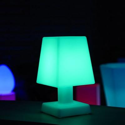 Lámpara de mesa LED multicolor - ABA - S SQUARE