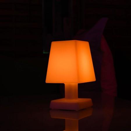 Lampada da tavolo a LED multicolore - ABA - S SQUARE