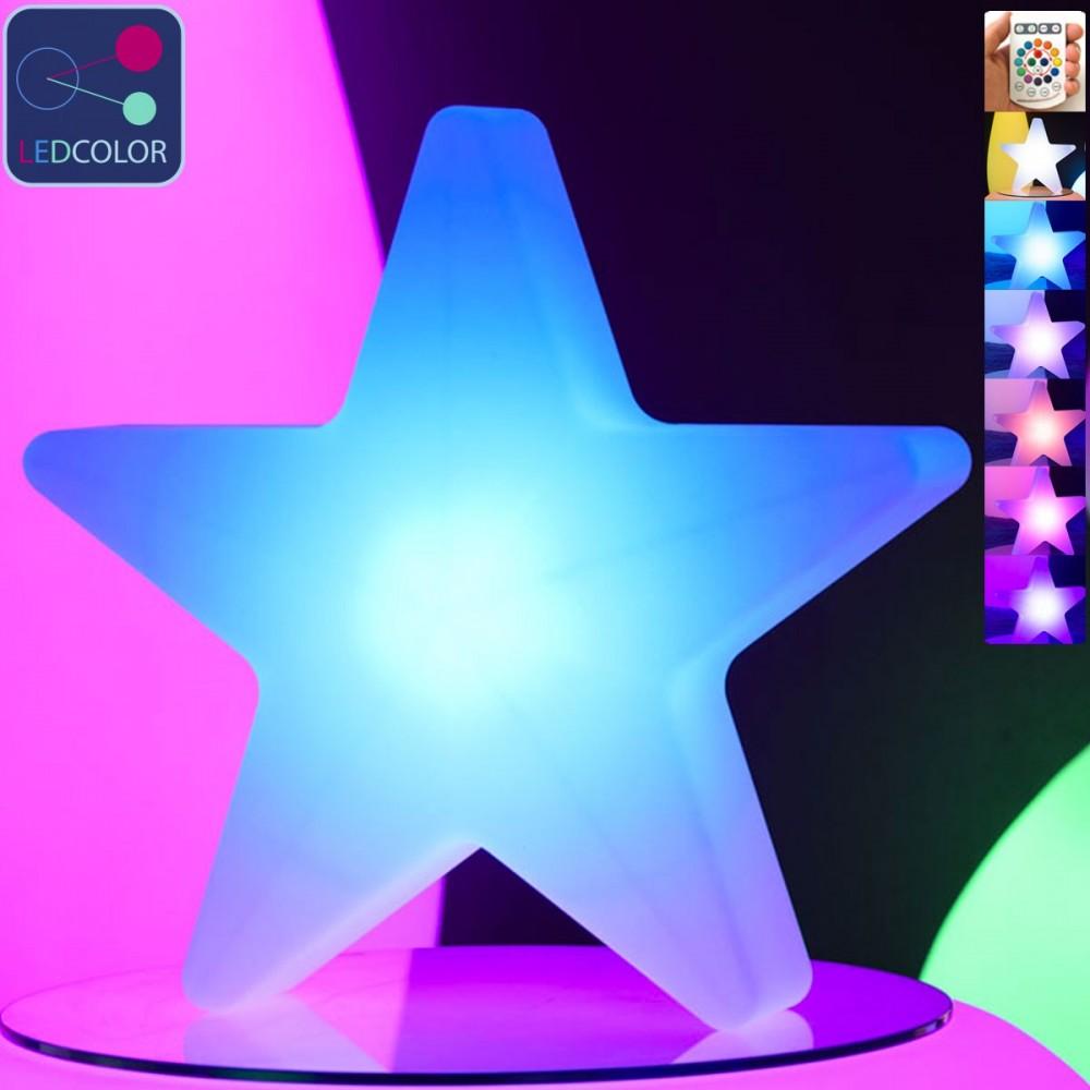 Lampe à poser LED Multicolore - ÉTOILE