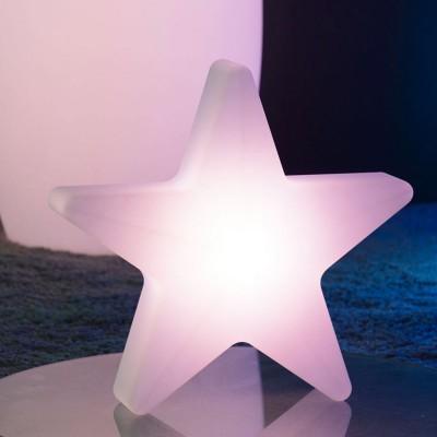 Lampe A Poser Led Multicolore Etoile A Prix Usine By Livedeco
