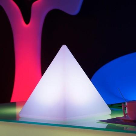 Pyramide Lumineuse à LED Multicolore - PYRAMIS - 28 cm