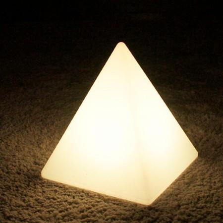 Piramide di luce LED multicolore - PIRAMIDE - 28 cm