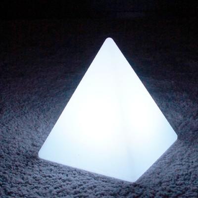 Mehrfarbige LED-Lichtpyramide - PYRAMIS - 28 cm