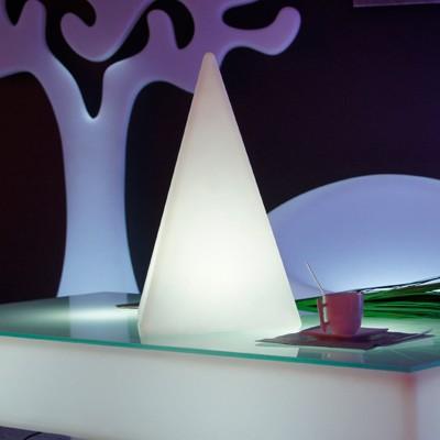 Piramide di luce LED multicolore - PIRAMIDE - 48 cm