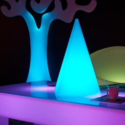 Mehrfarbige LED-Lichtpyramide - PYRAMIS - 48 cm