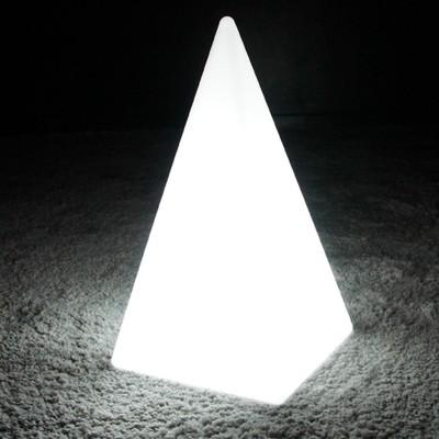 Pirámide de luz LED multicolor - PYRAMIS - 48 cm