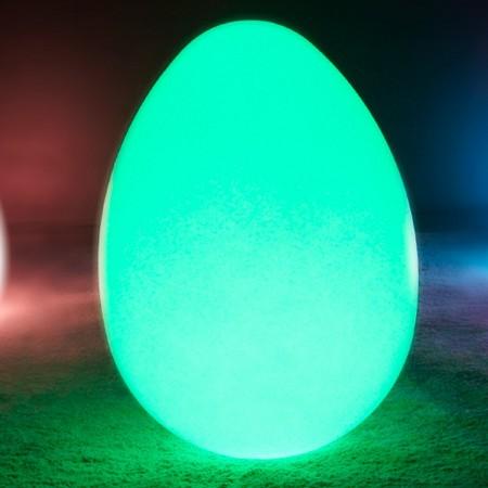 Uovo luminoso a LED multicolore - JAJKO - 68 cm
