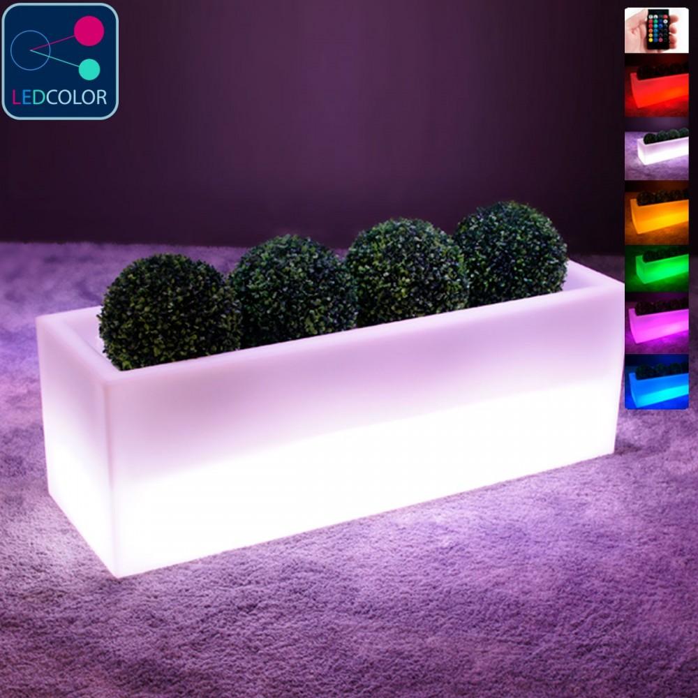 Jardinière Lumineuse à LED Multicolore - PLANTAZNIK