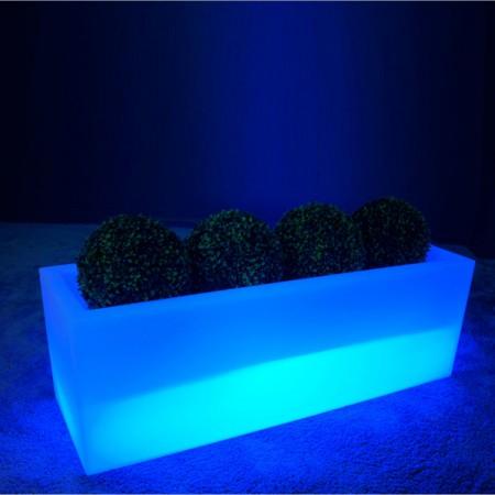 Jardinera iluminada LED multicolor - PLANTAZNIK