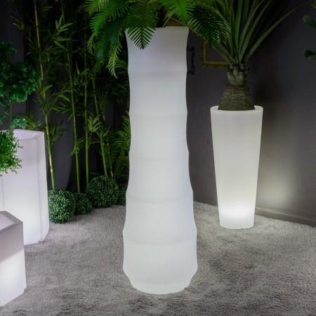 Vaso luminoso a LED multicolore - BAMBOO