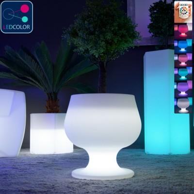 Mobilier Lumineux Multicolores LED Sans Fil, Avec ...