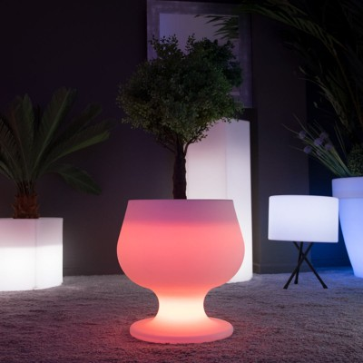 Mehrfarbiger LED-Lichttopf - CUP