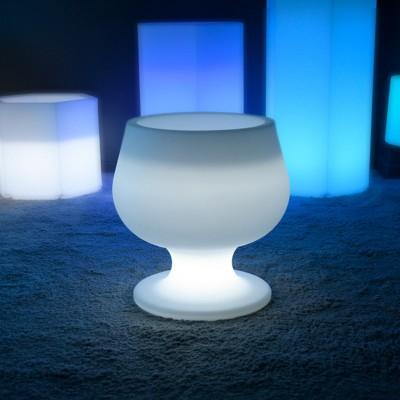 Vaso luminoso a LED multicolore - CUP