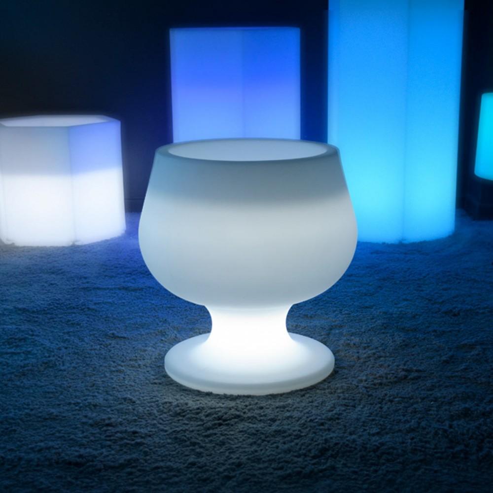 Maceta de luz LED multicolor - CUP