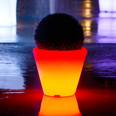 Bote de luz LED multicolor - ROUND S
