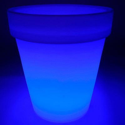 Vaso luminoso a LED multicolore - TONDO XXL