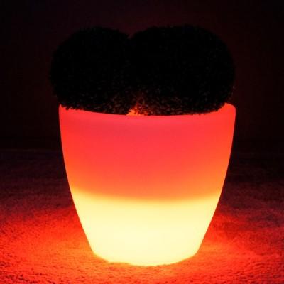 Mehrfarbiger LED-Lichttopf - SPARK - 45 cm
