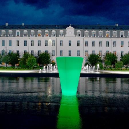 Vaso luminoso a LED multicolore - TORK