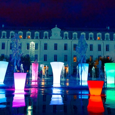 Mehrfarbiger LED-Lichttopf - TORK