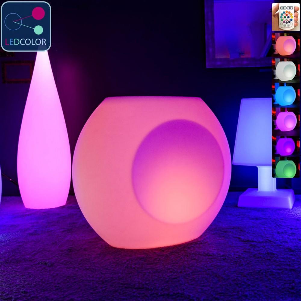 Pot Lumineux LED Multicolores - GEODE