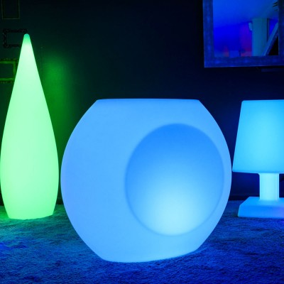 Pot Lumineux LED Multicolores - GEODE