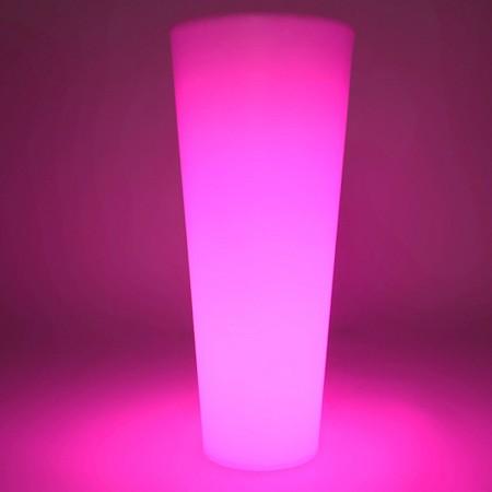 Vaso luminoso a LED multicolore - ROTONDO XL