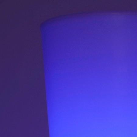 Jarrón con luz LED multicolor - ROUND XL