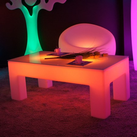 table basse lumineuse led multicolore classico prix usine by livedeco livraison express. Black Bedroom Furniture Sets. Home Design Ideas