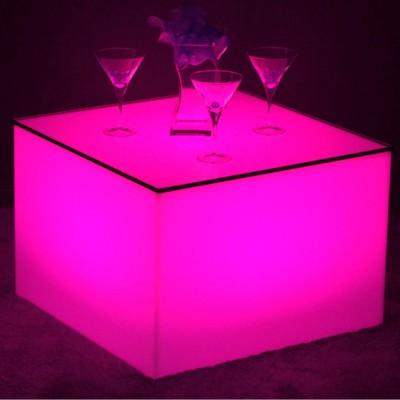 Tavolino Illuminato a LED Multicolore - Nelio